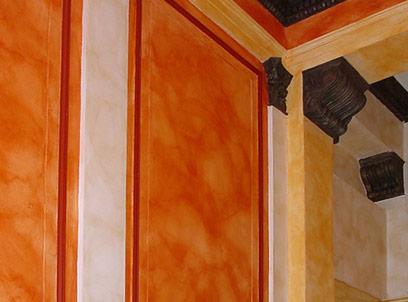 dekorative Wandgestaltung